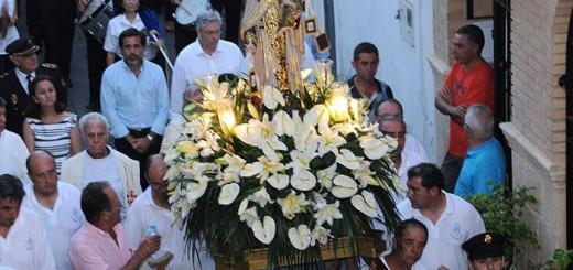 procesion virgen del Carmen Sagunto