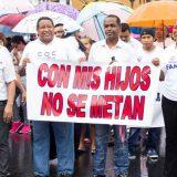 protesta evangelicos Panama contra educacion sexual 2016