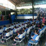 scout y militares El Salvador 2016