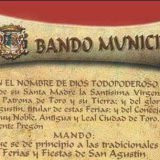 Bando alcalde de Toro