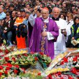 funeral de Estado catolico victimas terremoto Italia 2016