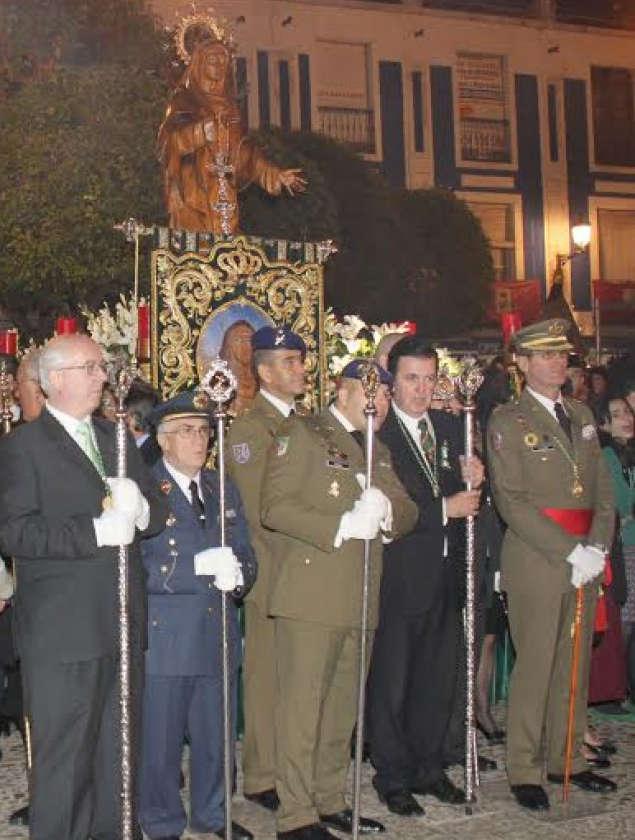 militares procesion valdepenas