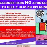 no apuntes a religion 2016