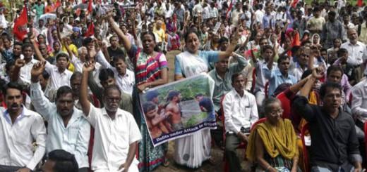 protesta casta intocables India 2016