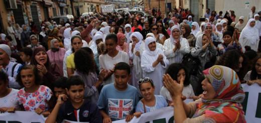 protesta musulmanes Melilla corderos 2016