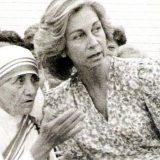 reina Sofia y Teresa de Calcuta