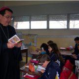 visita obispo escuela Canelones Uruguay