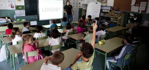aula colegio primaria Zaragoza