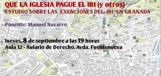 cartel charla IBI