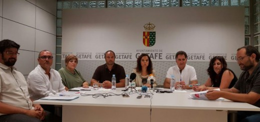 equipo gobieno Getafe 2016