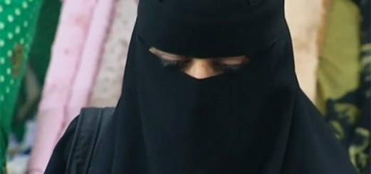 mujer musulmana niqab