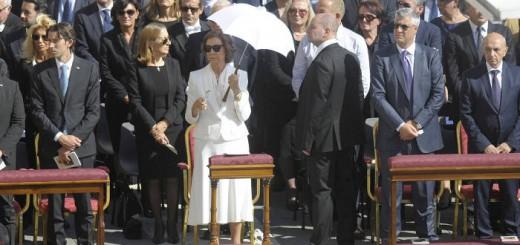 reina Sofia canonizacion Teresa Calcuta 2016 HP