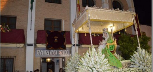 virgen de Fuente Clara Aznalcollar Sevilla