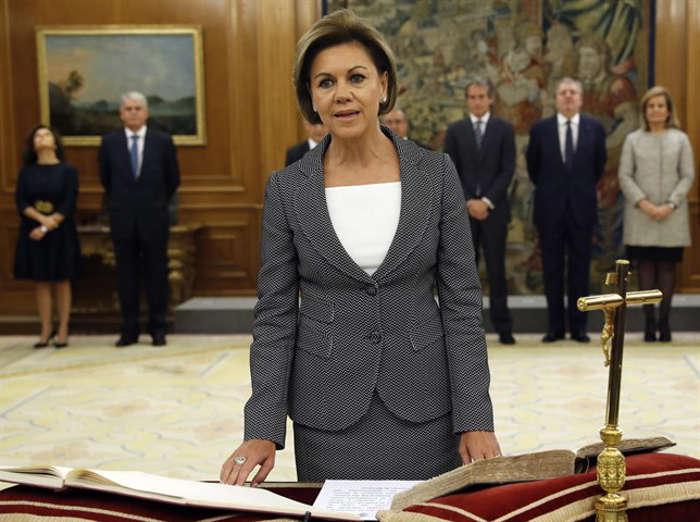 jura-toma-posesion-ministros-pp-2016-cospedal