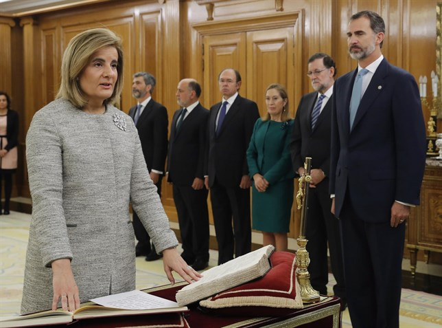 jura-toma-posesion-ministros-pp-2016-trabajo-banez