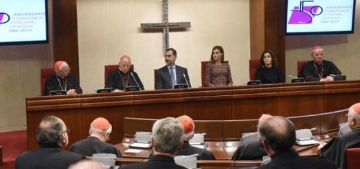 reyes-felipe-vi-y-letizia-conferencia-episcopla-2016