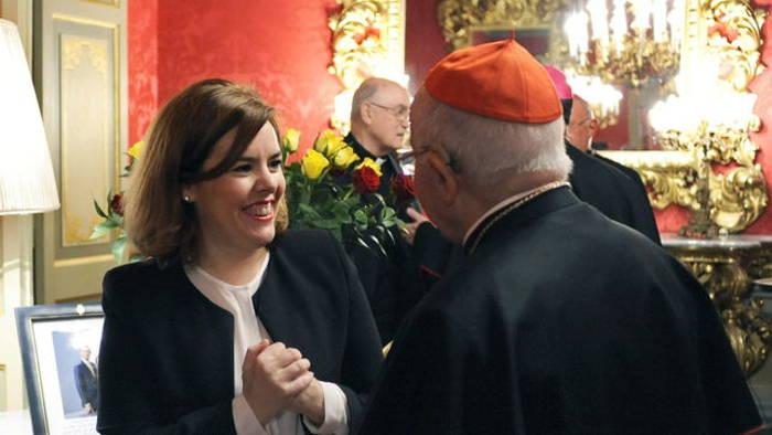 Blazquez y vicepresidenta Soraya