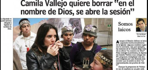 Camila Vallejo Chile diputada