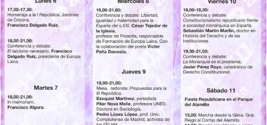Febrero republicano Sevilla 2017