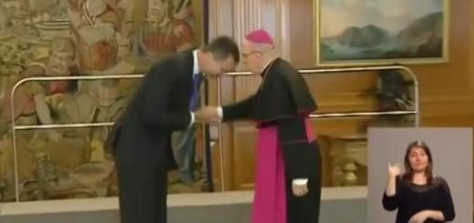 Felipe VI y cardenal Osoro 2017