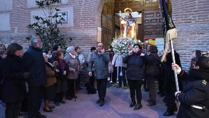 alcalde de Talavera procesion san Anton 2017 a