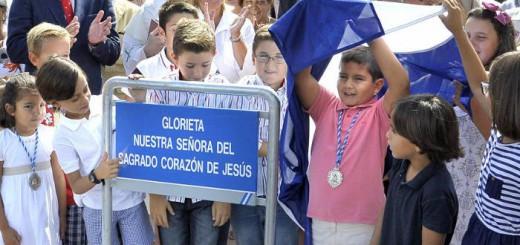 alcaldesa-inaug-glorieta-nuestra-senora-del-sagrado-corazon-de-jesus Jerez 2014