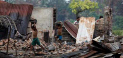 ataque a rohingas en Birmania Myanmar 2017
