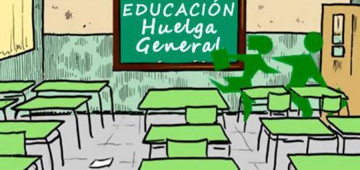 huelga general educacion
