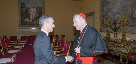lendakari Urkullu y cardenal Parolini 2017
