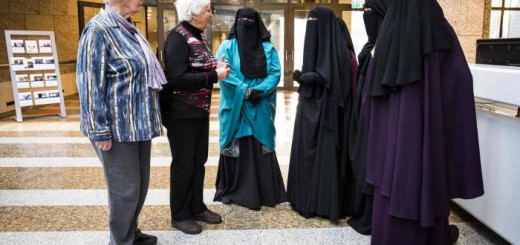 mujeres con niqab en Holanda 2016