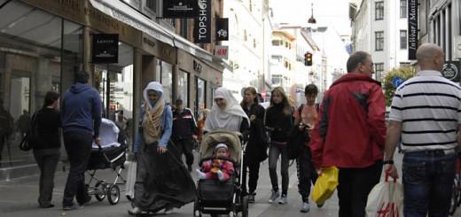 musulmanas en Dinamarca 2017