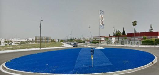 rotonda Jerez prevista imagen religiosa 2017