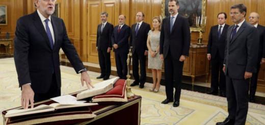 toma posesion Mariano Rajoy