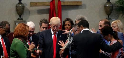 trump iglesia protestantes