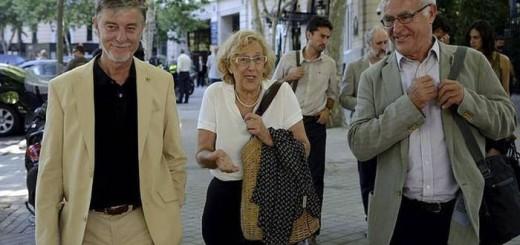 Carmena Ribo y Santisteve alcaldes 2017