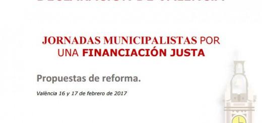 Declaracion de Valencia fiscalidad municipal 2017