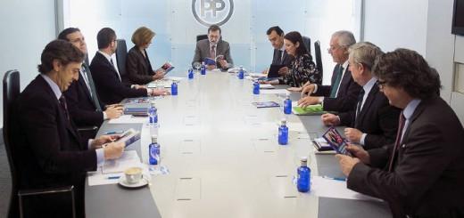 PP Comite direccion Partido Popular 2017