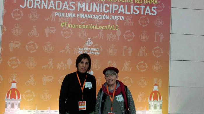 Raquel Jornadas municipalistas Valencia 2017