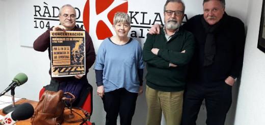 Raquel en Radio Klara 2017