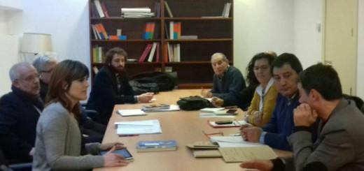 Recuperando reunido en el Congreso con Unidos Podemos