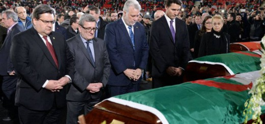 Trudeau-encabeza-funeral civil 2017 victimas ataque mezquita
