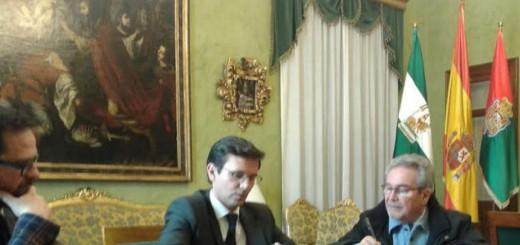 alcalde Granada hermandades de las Angustias 2017