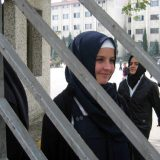 alumnas con velo en Turquia 2017