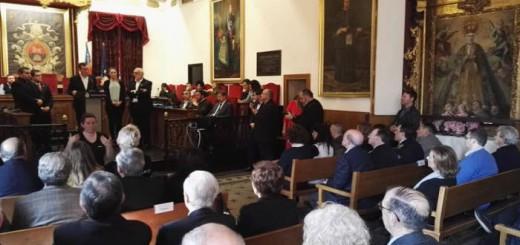 brindis Venida de la Virgen Ayuntamiento Elche 2017