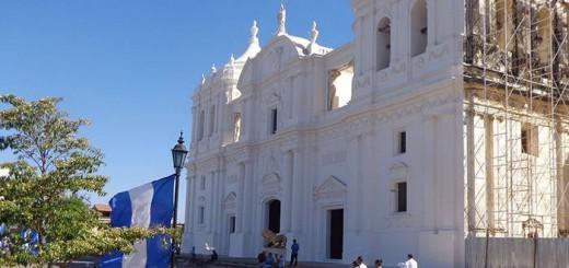 catedral de Leon en Nicaragua 2017