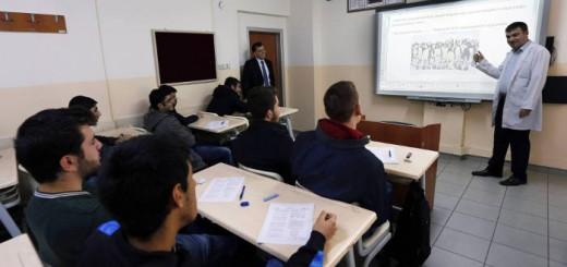 clase instituto Turquia 2013