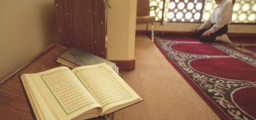 coran en la mezquita