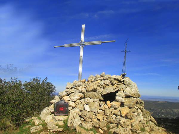cruz monte Teixereta alicante