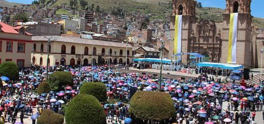 honores Peru virgen Candelaria 2017