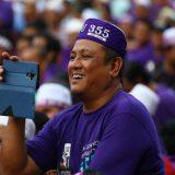 manifestacion Malasia por un codigo penal islamico 2017
